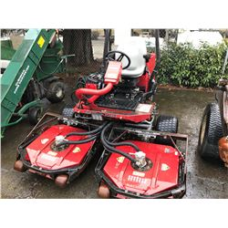 TORO 3500D GROUNDSMASTER RIDE ON MOWER