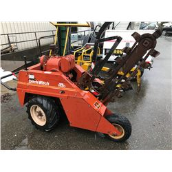 DITCH WITCH 1420 WALK BEHIND TRENCH MACHINE