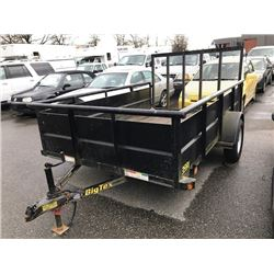 2012 BIG TEX MODEL 35SV-10BK   10' EQUIPMENT TRAILER