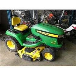 JOHN DEERE MODEL X540 MULTI TERRAIN LAWN TRACTOR WITH MOWER ATTACHMENT 267 HOURS