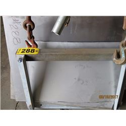 Misc sheet metal & angle iron frame