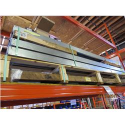 """6"""" Cable Tray, Lids, & Concrete Anchor Bolts"""