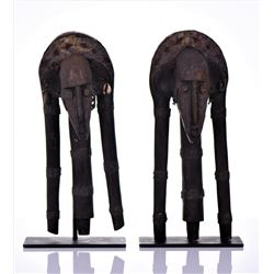 Two African Bambara Marionette's (Puppets),