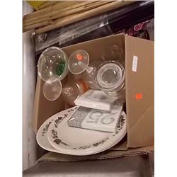 BOX - LARGE MARTINNI GLASSES, PLATES