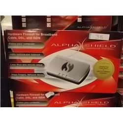 NEW ALPHA SHEILD HARDWARE FIREWALLS
