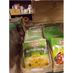 CASE OF WHEAT NOODLE MIX - 2 BOXES TTL PACKAGES. . - RETAIL APPROX. $50