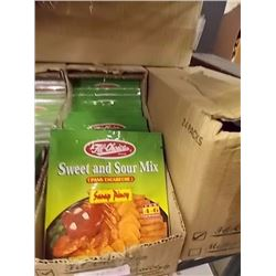 CASE OF SWEET SOUR MIX - CASE CONTAIN 24 X 50 GRAM PACKAGES. . - RETAIL APPROX. $50