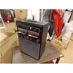 RETRO CALIFONE KAREOKE MACHINE - DUAL CASSETTE