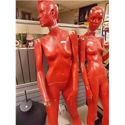 MANNEQUIN - FEMALE - RED - as-is