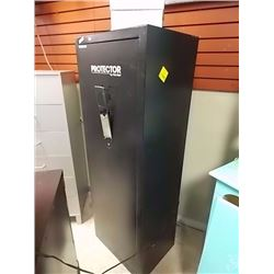 PROTECTOR GUN SAFE  - STR - NO KEY, COMBINATION OR HANDLE