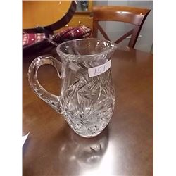 PIN WHEEL CRYSTAL  WATER JUG