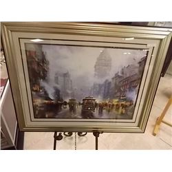 LIMITED EDITION THOMAS KINKADE LITHO - 1970'S - SAN FRANCISCO