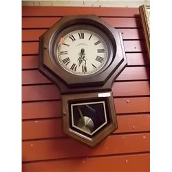 "CARAVELLA ""CHIME"" REGULATOR STYLE CLOCK"