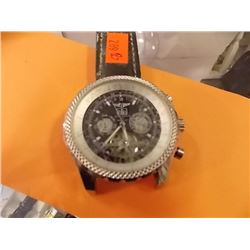 "WATCH - ""BREITLING FOR BENTLEY"" - SPECIAL EDITION 1982, STRAP NOT COMPLETE - SCRATCHS - as-is not au"