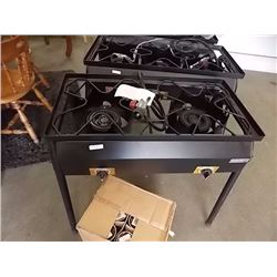 AUTO IGNITION 2 BURNER PROPANE COOKER - DISPLAY UNIT