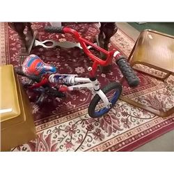 BIKE - CHILD'S - MAN OF STEEL