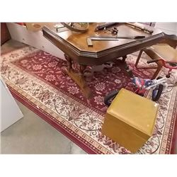 AREA CARPET - RED TONES - LARGE - 8' X 10'