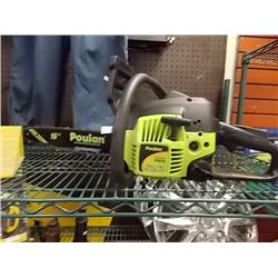 "POULAN 16"" CHAIN SAW - GAS - WORKING"
