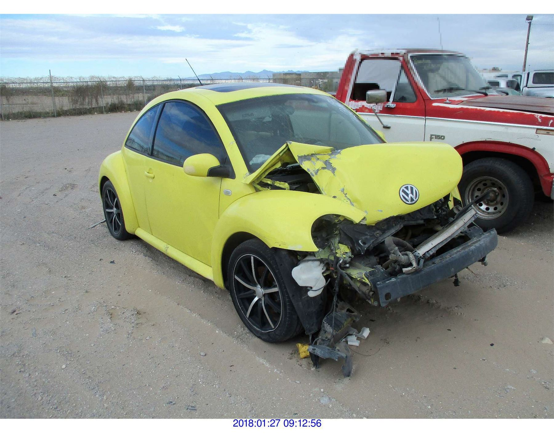 2001 Volkswagen New Beetle Parts Only