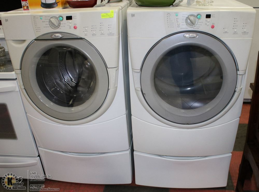 image 1 whirlpool duet front load washerdryer set with