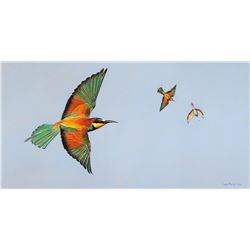 """Bee-Eaters"" by Leon Fouche"