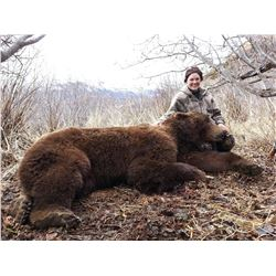 12 - DAY SPRING KODIAK ISLAND BROWN BEAR HUNT FOR 1 HUNTER