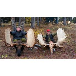 12 - DAY YUKON MOOSE HUNT FOR 1 HUNTER
