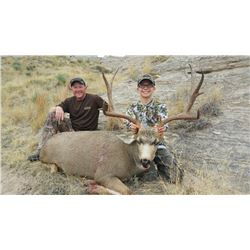Youth Deer Hunt in Wyoming with Off the Grid Outfitters