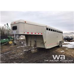 1998 DEX 5TH WHEEL T/A ALUM. STOCK TRAILER