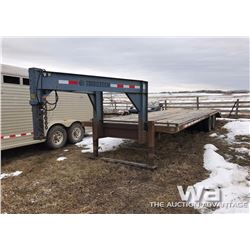 TRAILTECH 5TH WHEEL T/A DUAL WHEEL FLATDECK TRAILER