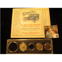 "Mint, unused label ""Victory Mist An Automobile Necessity A Marvel of Cleansing Efficiency…Victory Ch"