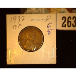 1932 P Lincoln Cent, EF.
