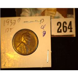 1932 D Lincoln Cent, EF.