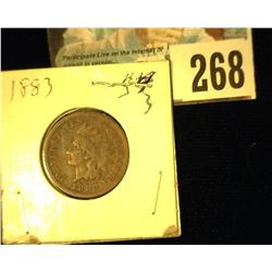1883 Indian Head Cent, Good.