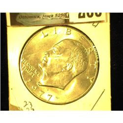 1977 D Eisenhower Dollar, Uncirculated.