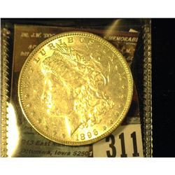 1896 P Morgan Silver Dollar BU.