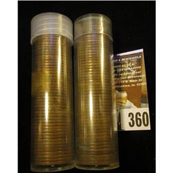 (100) San Francisco Mint U.S. Wheat Cents in a plastic tube.