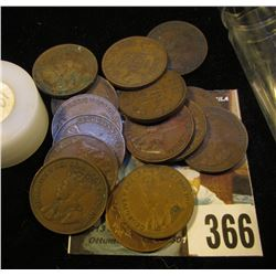(16) 1920 Canada Cents. Circulated.