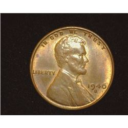 1940 S Lincoln Cent, Red-brown Uncirculated.