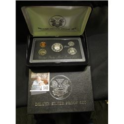 1994 S Deluxe Silver U.S. Proof Set, original as issued.