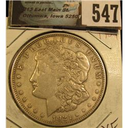 1921  Morgan  Silver Dollar XF CDN Grey Sheet bid $27.00