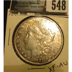 1881-O Morgan Silver Dollar XF-AU CDN Grey Sheet bid $33.00