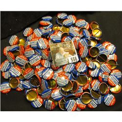 "Large group of 50-100 ""Elect Loveless Governor"" Political Pin-backs."