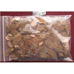 (485) Old Wheat Cents, which we did not have time to check for dates.