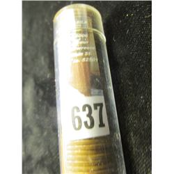 (51) 1951 D Lincoln Cents in a plastic tube.