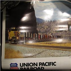 Union Pacific Railroad 1983 & 95 Calendars, excellent condition.