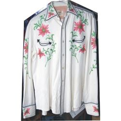 Calif Ranchwear embroidered fancy shirt