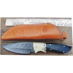 Alonso American made Damascus knife
