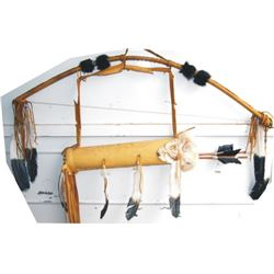 decorator bow, quiver & arrows