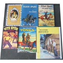 6 books - 1967 Cigars, Silver Spurs by Warren, Silver Spurs by Garst